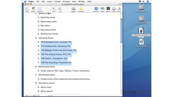 Adding slides: Keynote 3 Essential Training