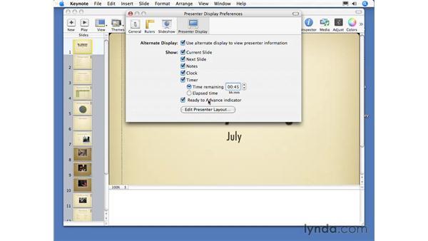 Presentation tools: Keynote 3 Essential Training