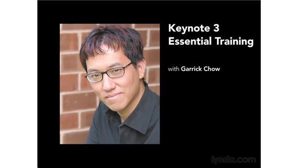 Goodbye: Keynote 3 Essential Training