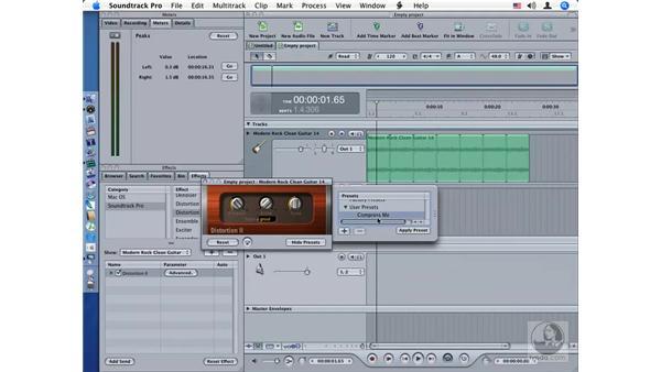 Distortion II: Soundtrack Pro Audio Filters