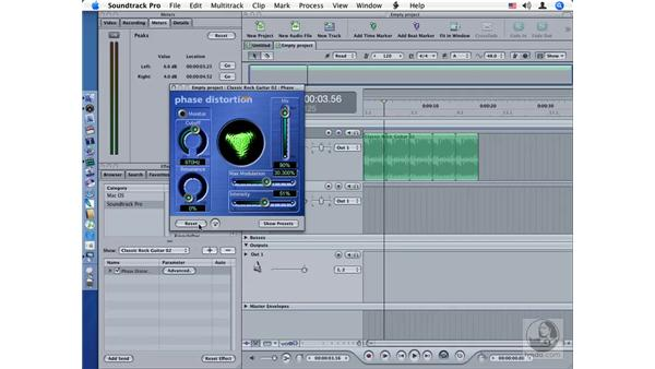 Phase Distortion: Soundtrack Pro Audio Filters