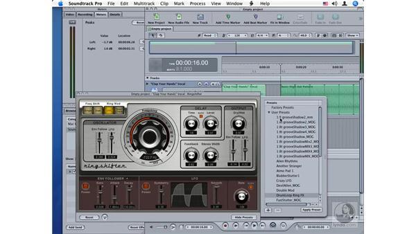 Ringshifter: Soundtrack Pro Audio Filters