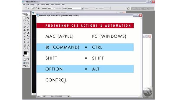 Mac versus Windows: Photoshop CS2 Actions and Automation