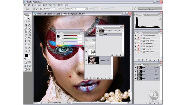 Special weird-as-heck tip: Photoshop CS2 Actions and Automation