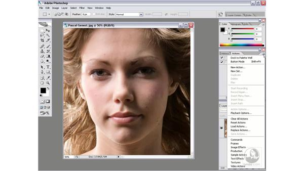 Loading action sets: Photoshop CS2 Actions and Automation