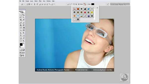 Real-world action 1.2: Recording the watermark action: Photoshop CS2 Actions and Automation