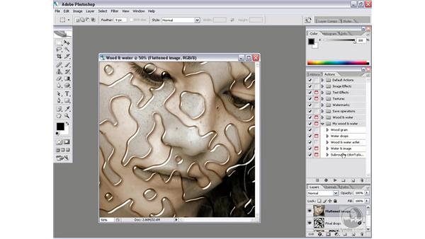 Real-world action 4.6: Testing the finished actlet: Photoshop CS2 Actions and Automation