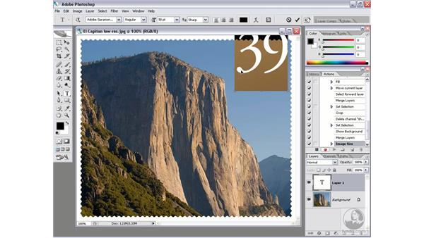 Editing a Droplet: Photoshop CS2 Actions and Automation