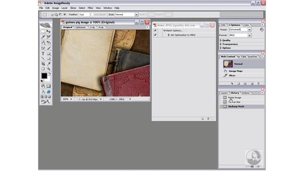 Adding states 1: Picking up History states: Photoshop CS2 Actions and Automation