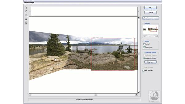 Photomerge: Photoshop CS2 Actions and Automation