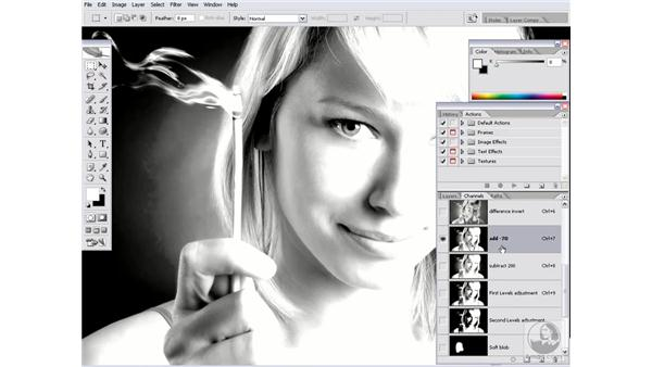 Creating a simple script: Photoshop CS2 Actions and Automation