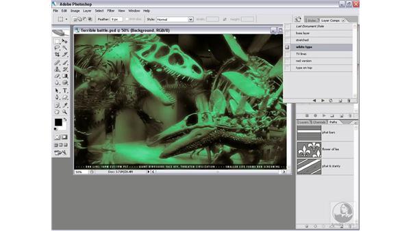 Real-world script 1.1: Megaflatten: Photoshop CS2 Actions and Automation