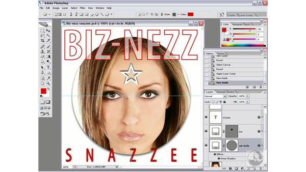 Real-world script 4.1: Making center guides: Photoshop CS2 Actions and Automation