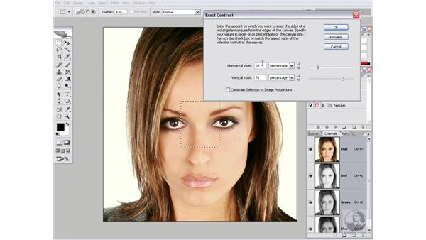 Real-world script 6.2: Exact Contract with a dialog box: Photoshop CS2 Actions and Automation