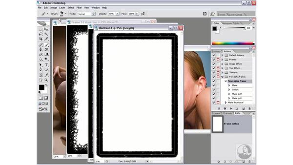 Real-world script 7.5: Making your own alpha frames: Photoshop CS2 Actions and Automation
