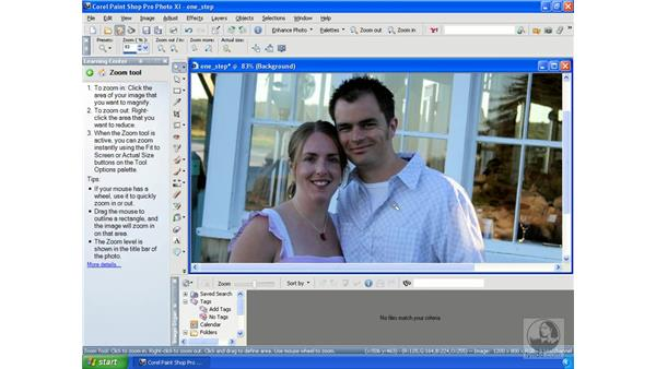 Using One Step Photo Fix: Getting Started with Corel Paint Shop Pro Photo XI