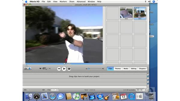 Clips: iMovie HD 6 + iDVD 6 Essential Training