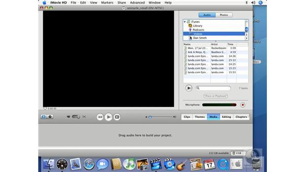 Media: iMovie HD 6 + iDVD 6 Essential Training