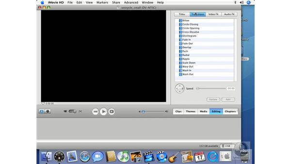 Editing: iMovie HD 6 + iDVD 6 Essential Training