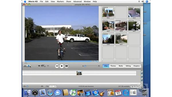 : iMovie HD 6 + iDVD 6 Essential Training