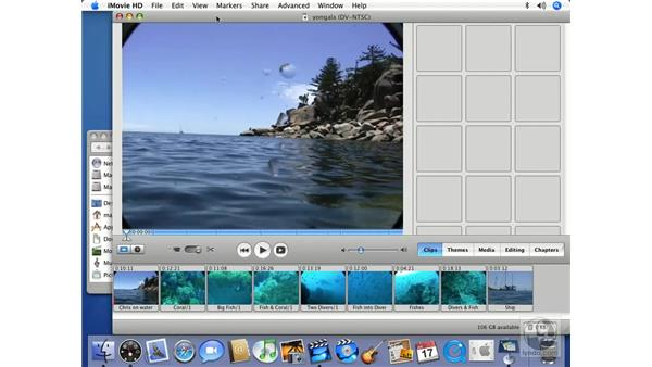 What are transitions and what do they do?: iMovie HD 6 + iDVD 6 Essential Training