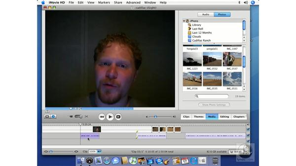 Extracting audio from video clips: iMovie HD 6 + iDVD 6 Essential Training