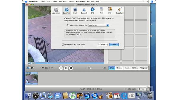 QuickTime: iMovie HD 6 + iDVD 6 Essential Training