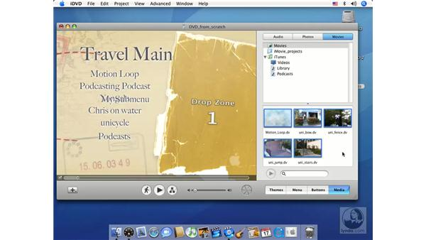 Understanding the DVD Map: iMovie HD 6 + iDVD 6 Essential Training