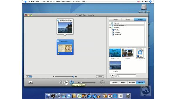 Building a Kiosk DVD: iMovie HD 6 + iDVD 6 Essential Training