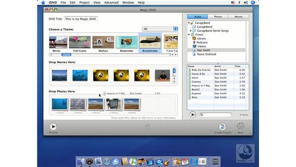 Magic iDVD mode: iMovie HD 6 + iDVD 6 Essential Training