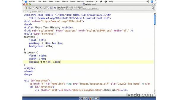 Fixing column drop: CSS Web Site Design