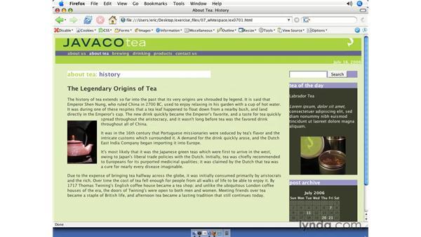 Margin essentials: CSS Web Site Design