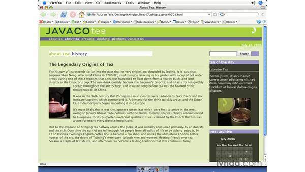 Adding borders: CSS Web Site Design