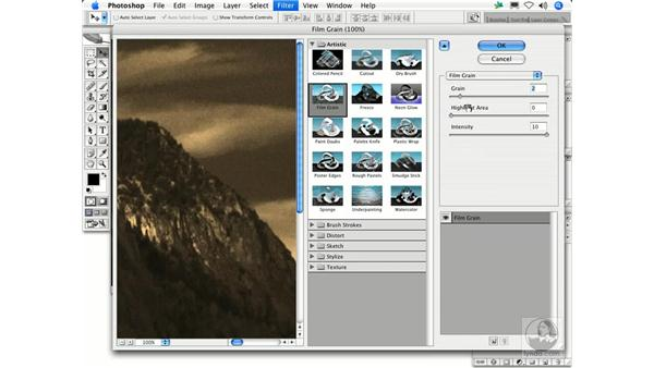 Film Grain: Photoshop Filters