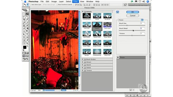 Fresco: Photoshop Filters
