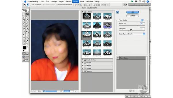 Paint Daubs: Photoshop Filters