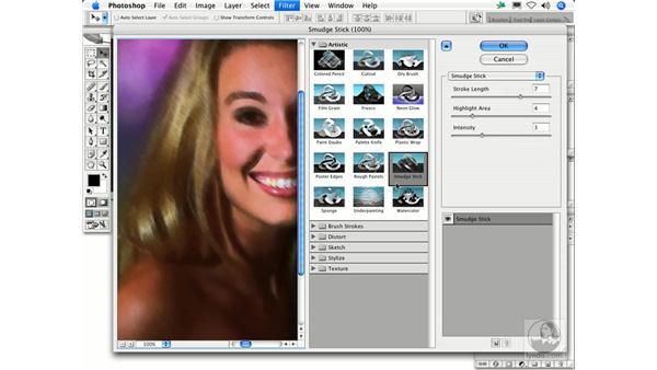Smudge Stick: Photoshop Filters