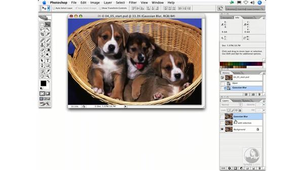 Gaussian Blur: Photoshop Filters