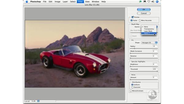 Lens Blur: Photoshop Filters