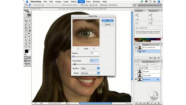 Smart Blur: Photoshop Filters