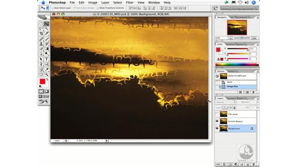 Displace: Photoshop Filters