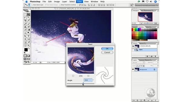 Twirl: Photoshop Filters