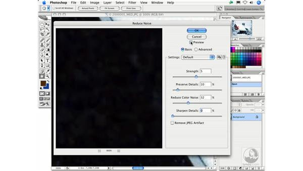 Reduce Noise: Photoshop Filters