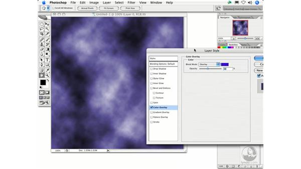Clouds: Photoshop Filters