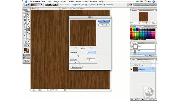Fibers: Photoshop Filters