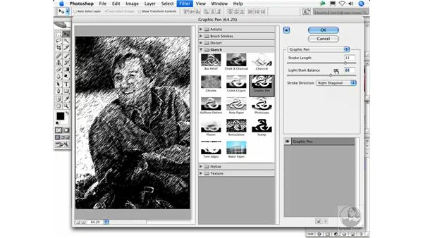 Graphic Pen: Photoshop Filters