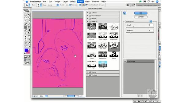 Photocopy: Photoshop Filters
