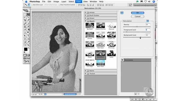 Reticulation: Photoshop Filters