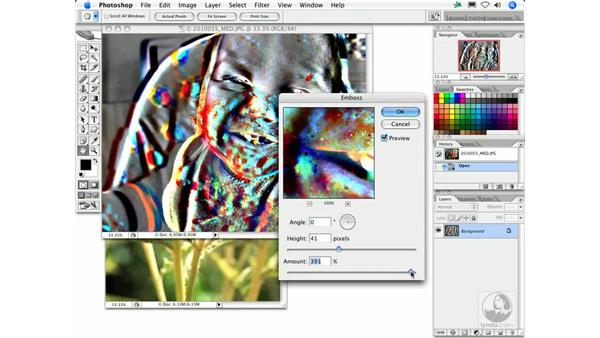 Emboss: Photoshop Filters