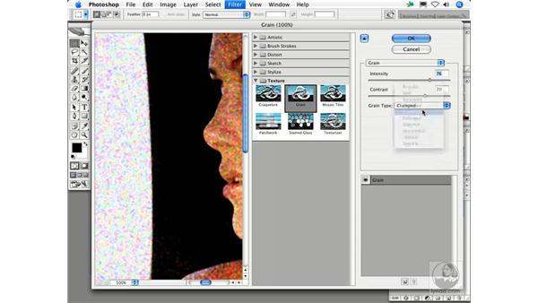 Grain: Photoshop Filters